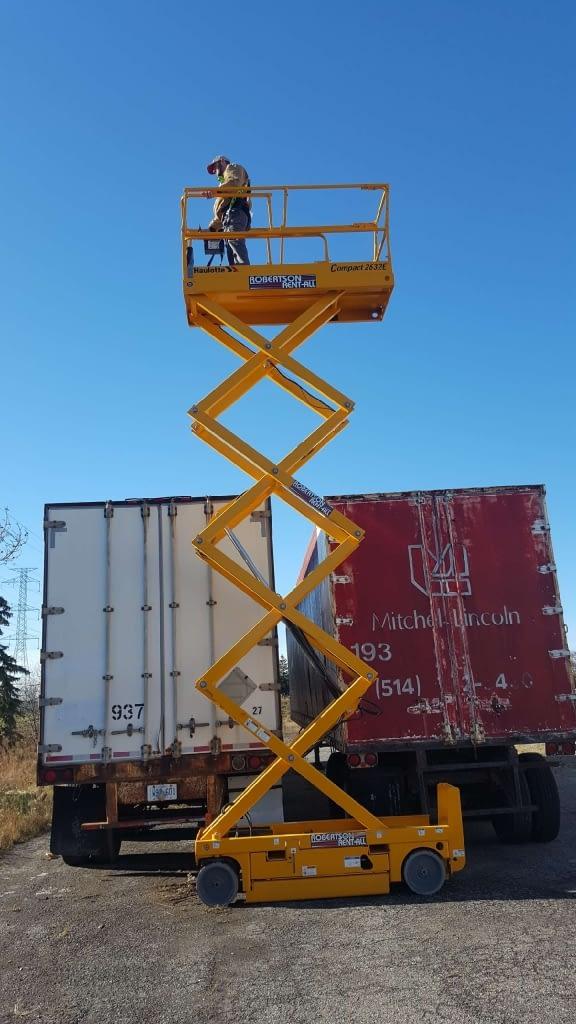 Elevated Working Platform