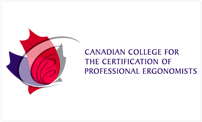 Canadian College for the Certification of professional ergonomists logo