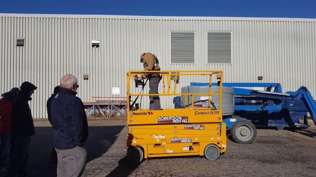 Elevated Platform Training