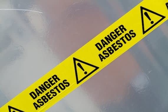Safety take warns of asbestos