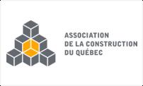 Logo du association de la constructoin du quebec